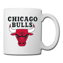 Chicago Basketball Logo coffee mug beautiful kids tazas ceramic tumbler caneca tea Cups