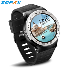 ZGPAX S99A 3G Smartwatch Phone 1.33 inch Android5.1 MTK6580 Quad Core 1.0GHz 8GB ROM 2.0MP Camera WiFi Bluetooth GPS Smart Watch