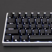 YMDK 104 87 61 ABS Side-lit Side Backlit Black Keycap Set OEM Profile For MX Mechanical Keyboard(China)