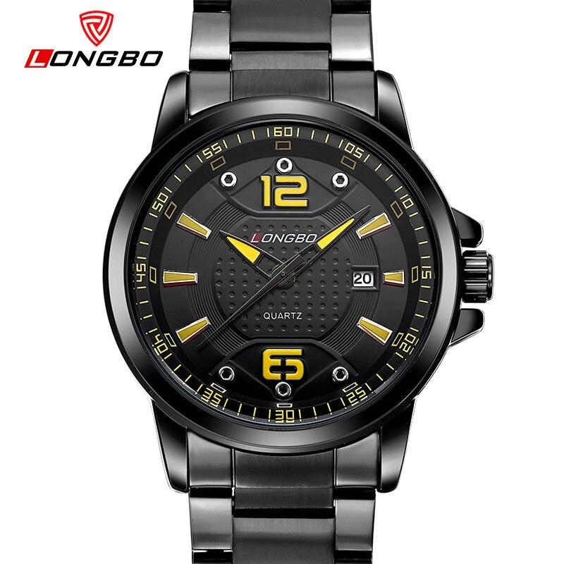 2017 New Russian Military Watch 30M Waterproof Stainless Steel Band Multifunction Luminous Day Date Men Watch Reloj LONGBO 80212<br><br>Aliexpress