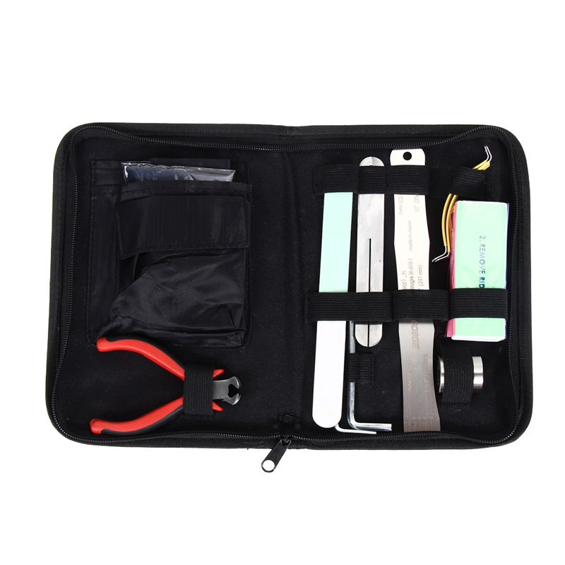 Pro Full Set Guitar Care Tool Clean Maintenance Measure Kit Tools Suitable for Any guitar H1E1<br><br>Aliexpress