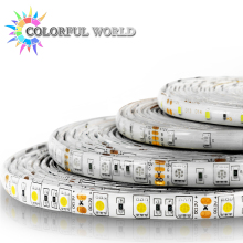 5M LED strip 3528 5050 60pcs/m DC12V LED Light RGB Cold white yellow red green blue Warm white(China)