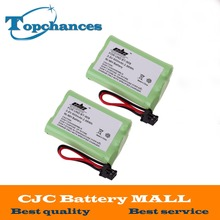 2PCS/Lot Rechargeable Cordless Home Phone Battery for Uniden BT-909 BT909 3*AAA Ni-MH 800mAh 3.6V Free Shipping