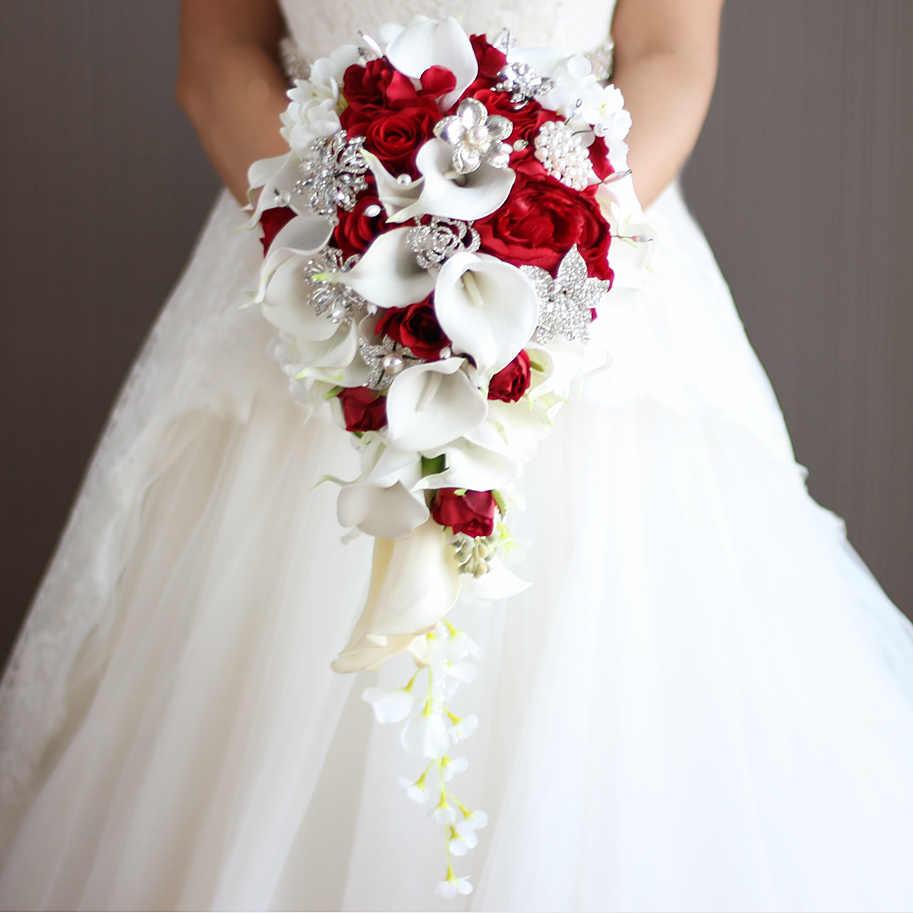 Сделаю свадебные букеты фото из красных роз, доставка букета на дом в чебоксарах