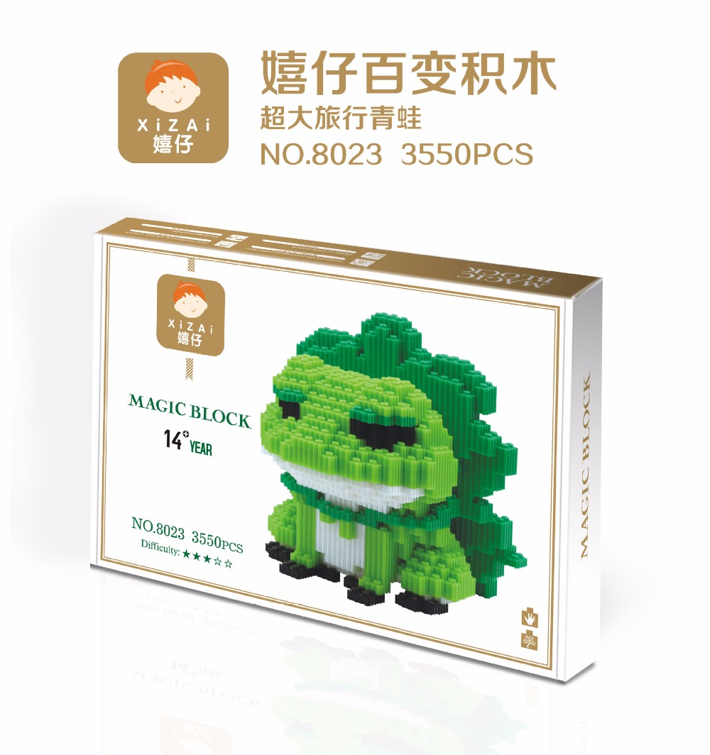 Xizai blocks frog 8023