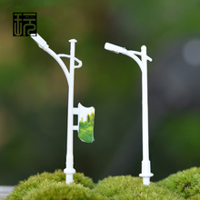 Simulation Advertising lights Artificial Street Lights Models Fariy Garden Miniatures Micro landscape/ Doll house Decoration