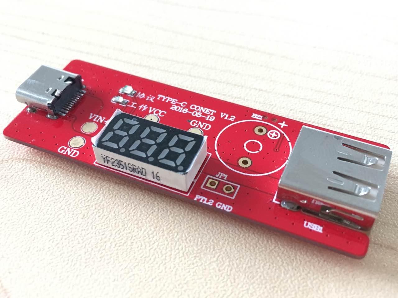 PD Type-c USB Test Board Burn-in Board Trap Tester Protocol Board Polling Device<br>