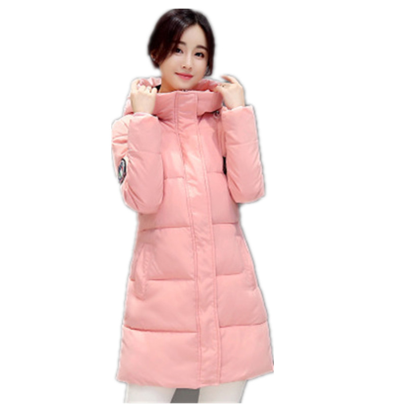 2017 New Winter Women Long Warm White Topcoat Thick Outerwear White Jacket Have Big Yards Fashion Coat Female Padded Parka YY125Одежда и ак�е��уары<br><br><br>Aliexpress