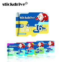 Bestselling Santa Claus memory card micro SD card 16gb 8gb TF flash memory card mini SD card for Smartphone/Tablet factory price