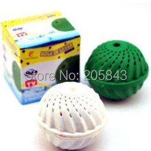6pcs/lot Eco Laundry Ball Magnetic Washing Ball Eco Wash Ball Laundry Natural Washing No Detergent No Chemicals(China)