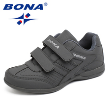 BONA New Popular Style Children Casual Shoes Outdoor Walking Jogging Sneakers Hook & Loop Boys Shoes Comfortable Shoes(China)