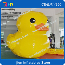 free air shipping,10ft/3m outdoor Advertising Inflatable promotion Yellow Duck animal model(China)