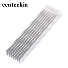 Centechia Aluminum Radiator Cooling Article 100*25*10MM Aluminum Alloy High Quality Heat Sink Cooler Heat sink Strips