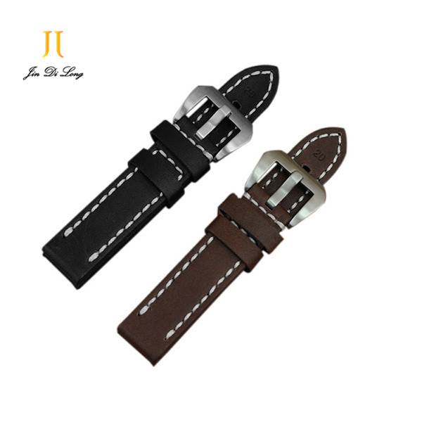 Eco Friendly 20MM 22MM 24MM 26MM Cowhide Genuine Leather Wrist Band High Quality Crazy Horse Multicolor Watch Straps<br><br>Aliexpress