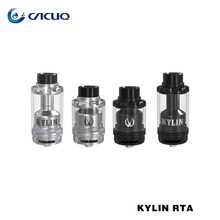 Original Cacuq Vandy Vape Kylin RTA 24-26 Tank Airflow Adjustable Iwith Single and Dual Coil 6ml&2ml E Cigarette Atomizer