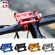 Universal Bike Bicycle Phone Holder Safe Ultra Durable Bracket Mount Handlebar Clip Stand For Smart Mobile Cellphone(China)