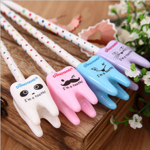 12PCS Funny Tooth pencil sharpener Kids happy birthday party supply gift baby shower favors christening gift