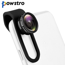 Buy Powstro Universal 2 1 Clip-on Phone Camera Lens Wide Angle Lens + 10X Macro Lens iPhone Samsung Sony Motorola Smartphones for $5.90 in AliExpress store