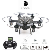 Yizhan I6s UpgradeMini Drones With HD Camera 2.4G 4CH 6 axis Headless Hovering Rc Helicopter Camera Nano Dron Vs 107c
