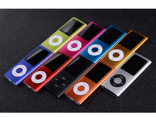 High Quality 1.8 inch support 16GB mp4 player Music playing 4th gen with fm radio video player E-book mp3 music players 9Colour