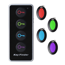 Wholesale 4-in-1 Remote Wireless Anti Lost Electronic Key Wallet Finder Lost Stuff Alarm Locator Transmitter Receiver Set