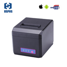 Pos receipt impressora multifuncional 80 also support 58mm paper bluetooth thermal printer ios machine with auto cutter quality(China)