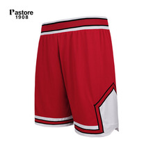 Pastore1908 summer basketball shorts quick dry running sportswear breathable europe size S-3XL custom jersey shorts red 309B