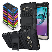 Effelon For Samsung Galaxy J3 2016 Coque Case Armor Shockproof cell phone bag Cover For Galaxy J320 J320F Protective Phone Case(China)