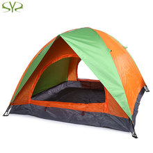 SHENGYUAN Double Layer Camping Tent Tabernacle for 3 or 4 People Outdoor Tool