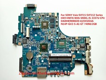 For SONY Vaio SVF15 SVF152 Series Laptop Motherboard HK9 HM76 With I5-3337U CPU DA0HK9MB6D0 A1945016A N14P-GV2-S-A1 GT 740M/2GB