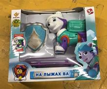 New! Everest patrulla canina Puppy Patrol Dog pawed Toy juguetes With Plate Anime Action Figures Doll Birthday Movable Joints