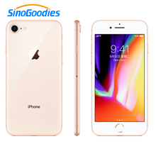 New Apple iphone 8 4.7 inch 64GB ROM 2GB RAM Hexa Core 12MP 1821mAh iOS LTE Fingerprint Mobile Phone iphone8(China)