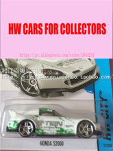 Hot Sale New Hot Wheels 1:64 HONDA S2000 Models Metal Diecast Car Collection Kids Toys Vehicle Juguetes(China)