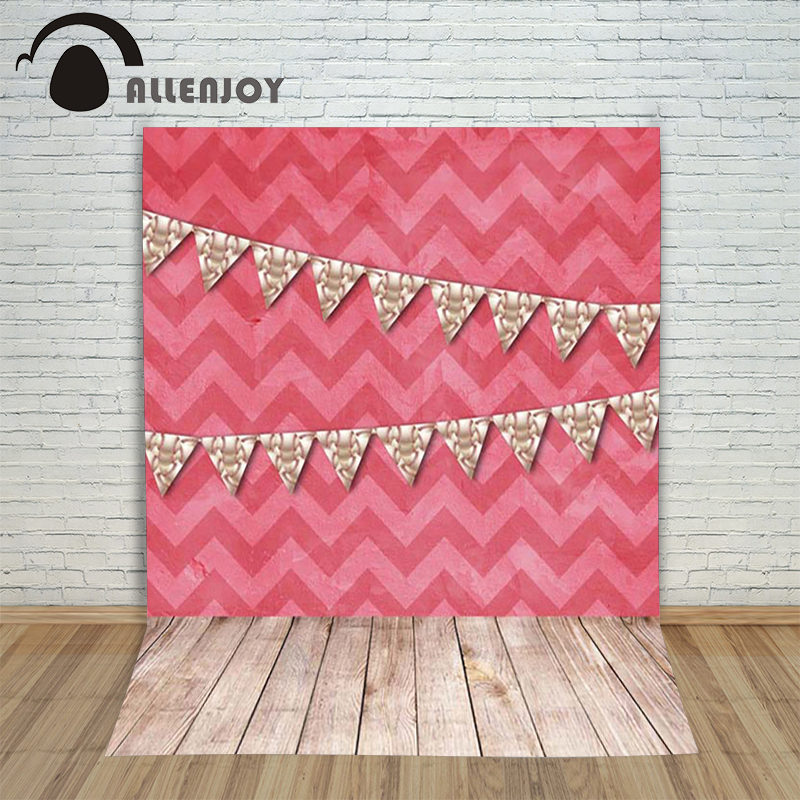 Photography background Red striped wall banner wooden floor children princess props spring  Allenjoy backdrops<br><br>Aliexpress