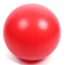 Balancing Stability Ball for Yoga Pilates Anti-Burst + Air Pump Red 45 cm(China)