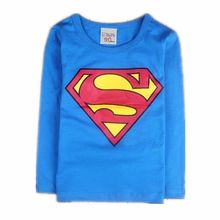 Children Kids Clothing Tees Cool Superman Baby Boys T Shirts For Summer Children Outwear Baby T-shirt 19(China)