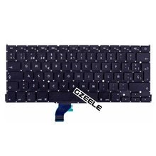 "Spanish New For Apple Macbook Pro Retina 13"" A1502 Keyboard Replacement ME864 ME865 ME866 SP Laptop Keyboard(China)"