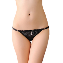 Buy Sexy Panties Women Thongs Breathable G String Lace Thong Low Waist G-string Knickers Lingerie Underwear Girls Gift
