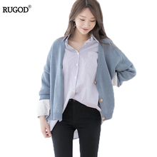 RUGOD Autumn Coat Women Solid Long Sleeve Womens Coats New 2017 Fashion High Quality Casual Short Winter Coat Women Jacket