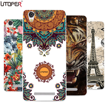 "DIY Pattern Cover Flower Dog Cat Printed Silicone Fundas Case For Blackview A8 5.0"" Soft Plastic TPU Phone Protective Bags"