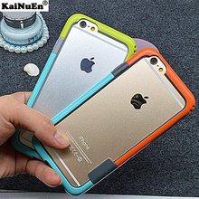 KaiNuEn Anti-knock phone bumper for iphone 8 plus PC for iphone8 accessories soft Phone frame, rim case for apple iphone 8plus(China)