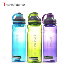 Transhome 600ML Water Bottle For Sport Shaker Portable Camping Bicycle Unbreakable My Space Water Bottle With Tea Infuser