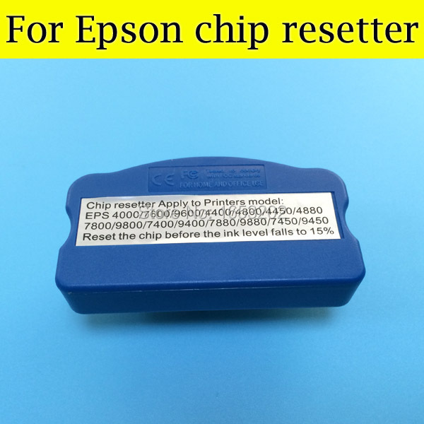 1 PC Best Chip Resetter For Epson Style Pro 4000 7600 9600 4400 4800 4450 4880 10600 10000 Printer<br><br>Aliexpress