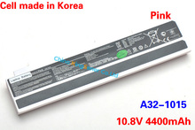 Original New Korea Cell A32-1015 Laptop Battery for ASUS Eee PC 1015 1015P 1015PE 1015PW 1025 1215 1016 1016P A31-1015 Pink