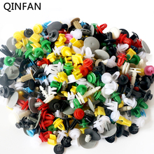500PCS Universal Car Mixed Door Trim Panel Clips Fasteners Auto Bumper Rivet Retainer Push Engine Cover Fender Fastener Clips(China)