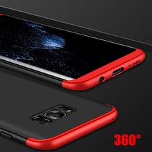 Toraise Luxury 360 Full Protection + Ultra Thin Protective Cover Case For Samsung Galaxy S8 &S8 Plus Moblie Phone Bag Capa Coque