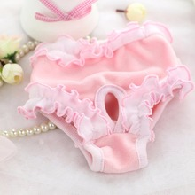 Cute Pet Dog Panty Small Female Sanitary Pants Underwear Cute Hygienic Pant Short Cotton Pet Physiological Panties(China)