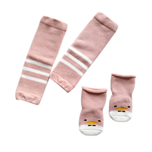 Toddler Kids sock Knee pads Protector Soft Thicken Non-Slip Dispensing Safety Crawling Baby Leg Warmers Knee Pads Child