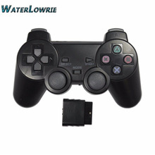Waterlowrie 2.4G Wireless Game Gamepad Joystick For PS2 Controller Sony Playstation 2 Console Dualshock Gaming Joypad