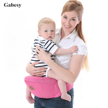 2017 New Baby Carrier big Waist Stool Design Walkers Baby Sling Hold Waist Belt Backpack Hipseat Belt Kids Infant Hip Seat(China)